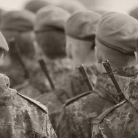 Soldaten der Bundeswehr Jägerbattallion 91 Lent Kaserne