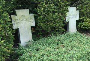 Grabsteine von lent und Kubisch in Stade
