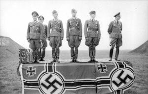 Helmut Lent Kammhuber Ritterkreuz NSDAP Parade