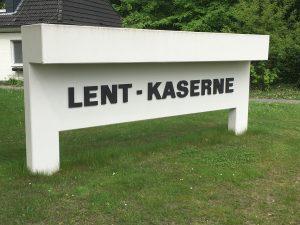 Die Lent-Kaserne am Luhner Holze in Rotenburg