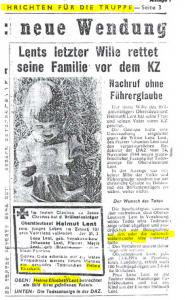 Fake News aus dem Jahre 1944
