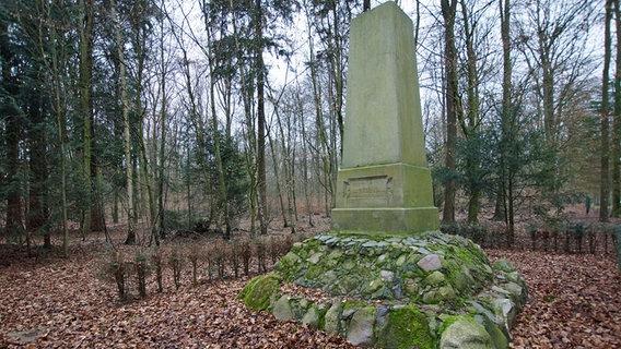 Grabstätte von Johann Christian von Düring auf dem Kasernengelände